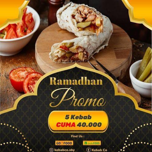 KEBAB.CO SURABAYA PROMO RAMADHAN GRAB FOOD / GOFOOD (26140627) di Kota Surabaya