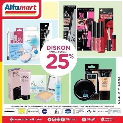 Alfamart Diskon S D 25 Beauty Corner Promo Jakarta Selatan Jualo