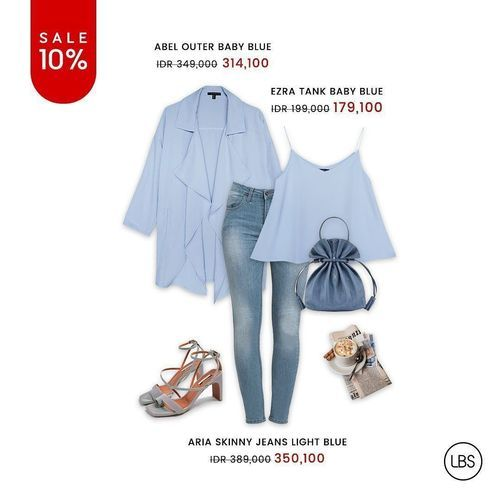 LOOK BOUTIQUE STORE GET 10% OFF TODAY ONLY! (26140915) di Kota Jakarta Selatan