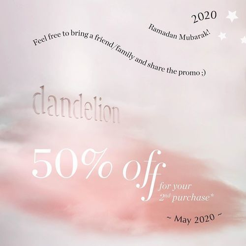 DANDELION WAXING NAILS LASH SALON RAMADAN PROMO 2020 50% OFF ON SECOND PURCHASE (26140987) di Kota Jakarta Selatan