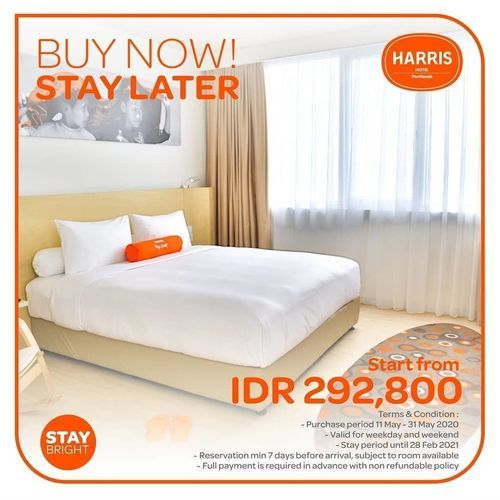 HARRIS HOTEL PAY NOW STAY LATER (26151095) di Kota Jakarta Selatan