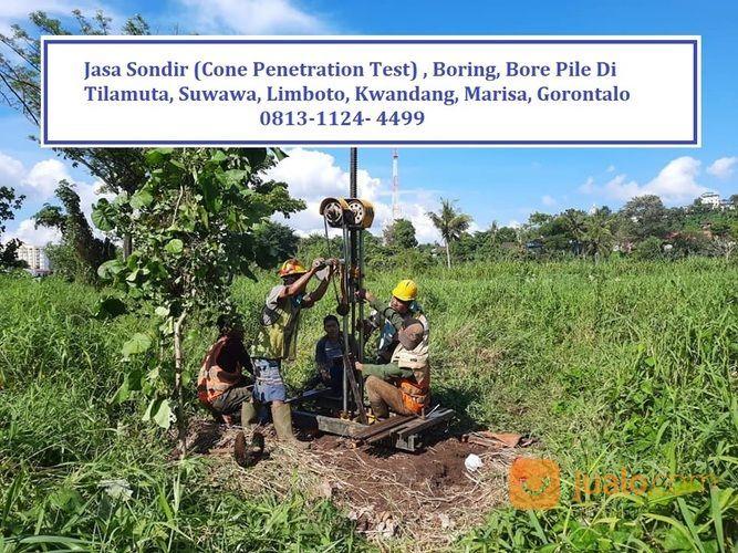 Jasa Sondir Cone Penetration Test Boring Dan Bore Pile Sumur Dalam Di Gorontalo Kab Boalemo Jualo
