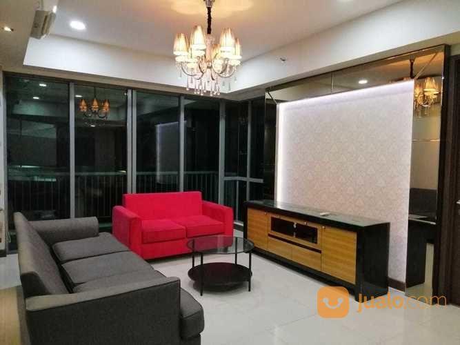 Apartemen ST Moritz Tower Royall 2 BR Siap Huni Furnished (26163019) di Kota Jakarta Barat