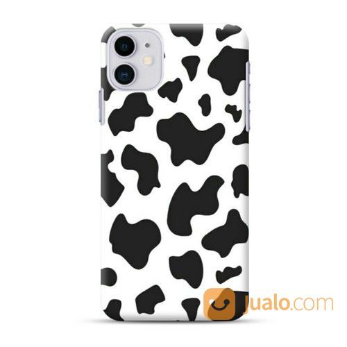 Black And White Milk Pattern IPhone 11 Custom Hard Case (26168719) di Kota Bekasi