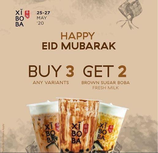 Xiboba - Promo Buy 3 Get 2 (26179003) di Kota Jakarta Selatan