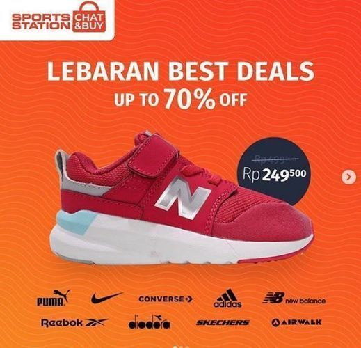 Sports Station - Promo Discount 70% (26179079) di Kota Jakarta Selatan