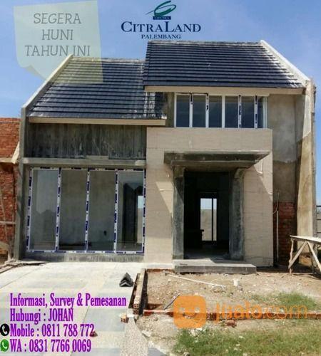 Rumah 1 Lantai CitraLand Palembang Siap Huni (26192587) di Kota Palembang