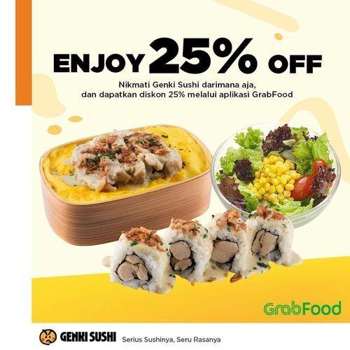 Genki Sushi Enjoy 25% Off (26192787) di Kota Jakarta Selatan