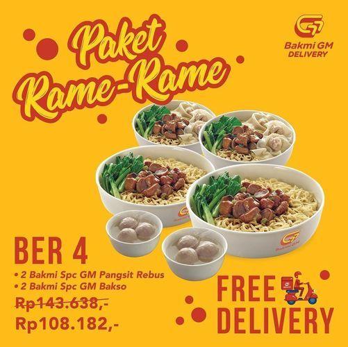 Bakmi GM Paket Rame-Rame (26192799) di Kota Jakarta Selatan