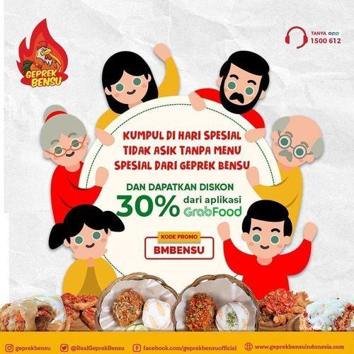 Geprek Bensu Diskon 30% Grabfood (26192907) di Kota Jakarta Selatan