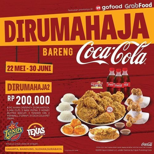 Texas Chicken Promo Dirumah Aja (26192967) di Kota Jakarta Selatan