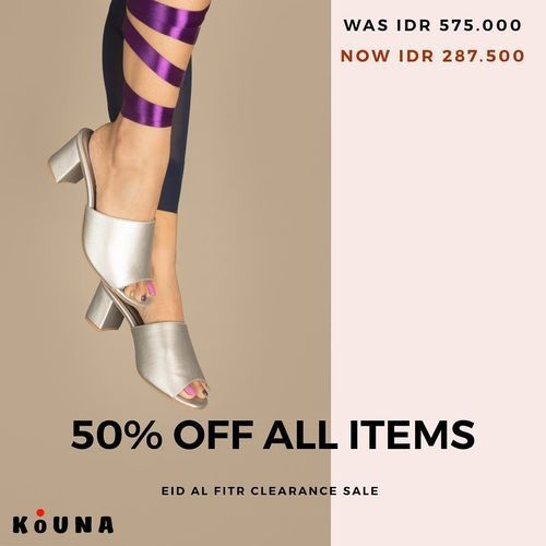 Kouna Shoes Disc. 50% Off All Items (26193043) di Kota Jakarta Selatan