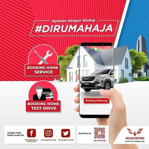 Wuling Motors Test Drive & Service di rumah (26194203) di Kota Jakarta Selatan