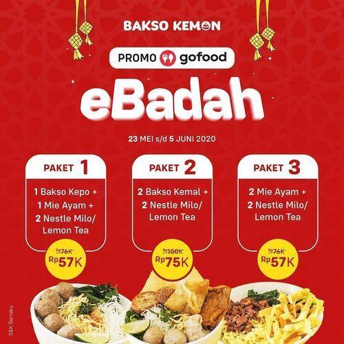 Bakso Kemon Paket Ebadah (26202603) di Kota Jakarta Selatan