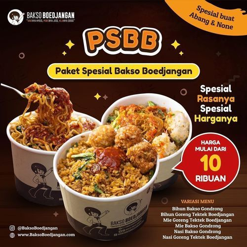 Bakso Boedjangan PSBB Paket Spesial (26202607) di Kota Jakarta Selatan