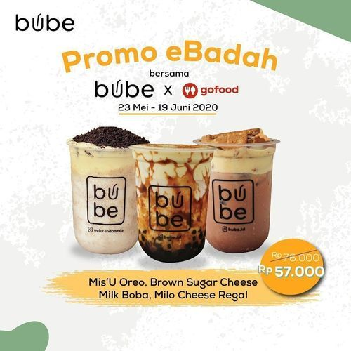 Bube Indonesia Promo eBadah (26202611) di Kota Jakarta Selatan