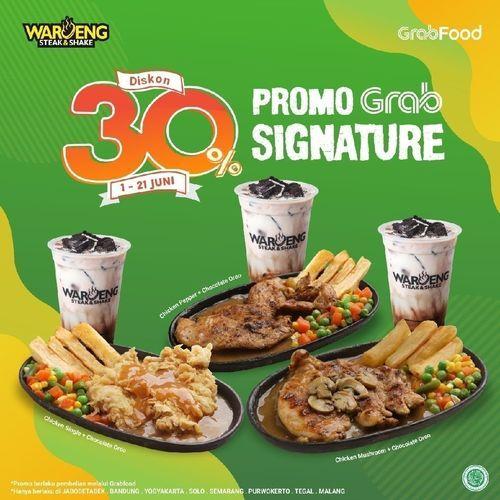 Waroeng Steak & Shake Diskon 30% Grabfood (26222151) di Kota Jakarta Selatan