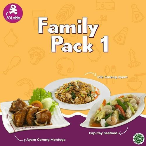 Solaria Resto Family Pack (26222227) di Kota Jakarta Selatan