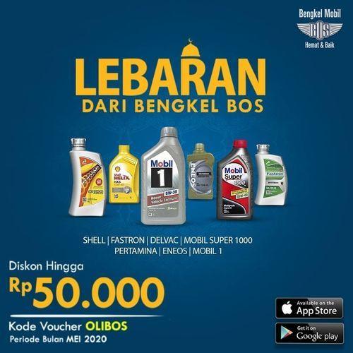 Bengkel Bos Diskon Hingga Rp. 50.000 (26236579) di Kota Jakarta Selatan
