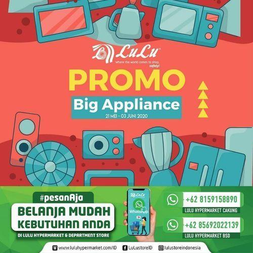 Lulu Hypermart Promo Big Appliance Jakarta Selatan Jualo