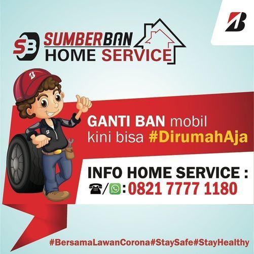 Bridgenstone Ganti Ban Home Service (26244295) di Kota Jakarta Selatan