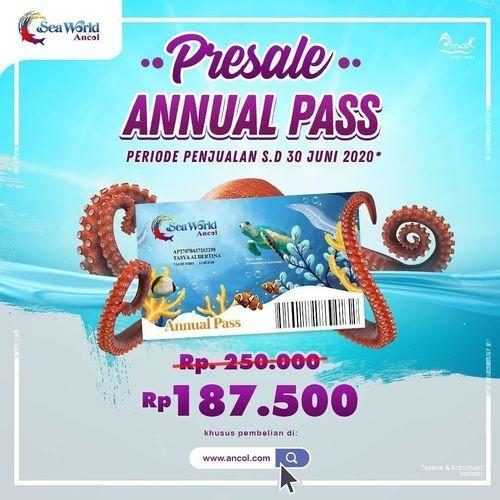 Sea World Ancol Presale Annual Pass (26244347) di Kota Jakarta Selatan