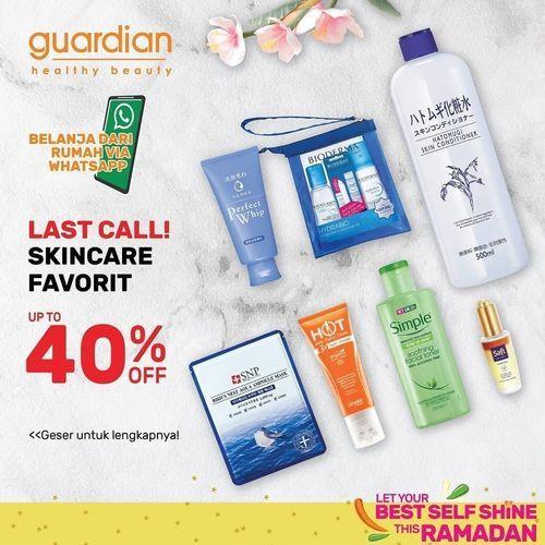 Guardian Skincare Favorit 40% Off (26244495) di Kota Jakarta Selatan