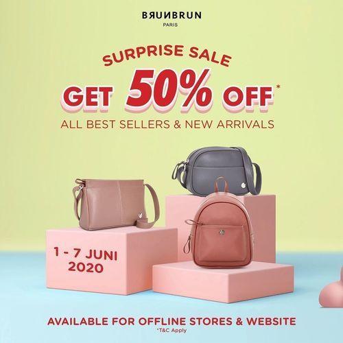 BRUNBRUN Paris Get 50% Off (26244527) di Kota Jakarta Selatan