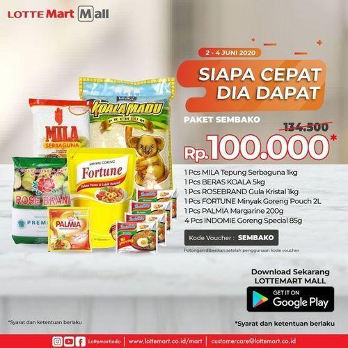 LotteMart Promo Sembako Rp. 100.000 (26245355) di Kota Jakarta Selatan