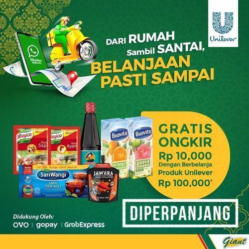 Giant Promo Gratis Ongkir (26245379) di Kota Jakarta Selatan