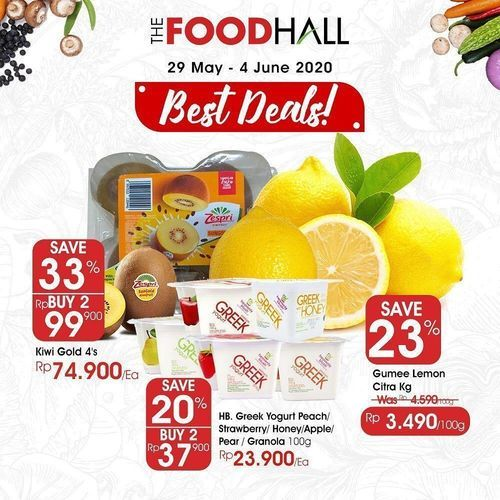 FoodHall Best Deals Promo (26246827) di Kota Jakarta Selatan