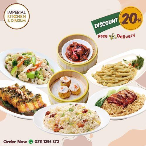 Imperial Kitchen Discount 20% Free Delivery (26246871) di Kota Jakarta Selatan