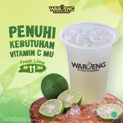 Waroeng Steak & Shake New Fresh Lime (26261719) di Kota Jakarta Selatan