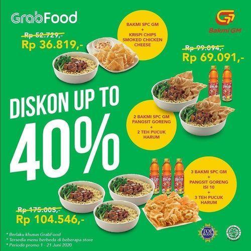 Bakmi GM Diskon Up To 40% (26265263) di Kota Jakarta Selatan