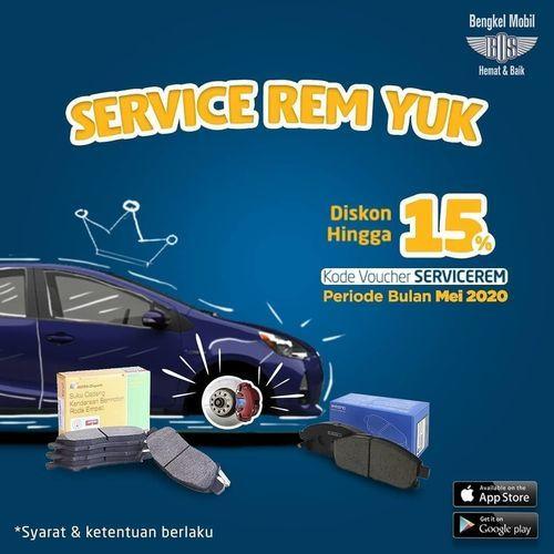 Bengkel BOS Service Rem Diskon Hingga 15% (26265803) di Kota Jakarta Selatan