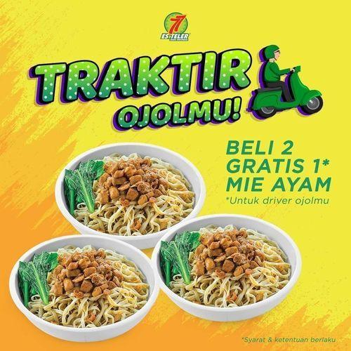 ESTELER77 PROMO TRAKTIR OJOL BELI 2 GRATIS 1 MIE AYAM (26313139) di Kota Jakarta Selatan