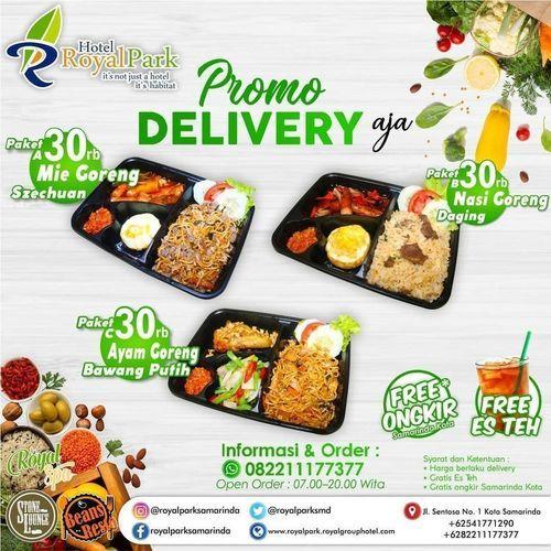 ROYAL PARK HOTEL SAMARINDA Delivery Royal Park MENU FREE ONGKIR UNTUK SAMARINDA KOTA (26317859) di Kota Samarinda