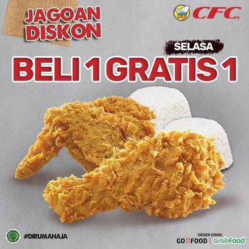CFC JAGOAN DISKON BELI 1 GRATIS 1 SELASA (26320071) di Kota Jakarta Selatan