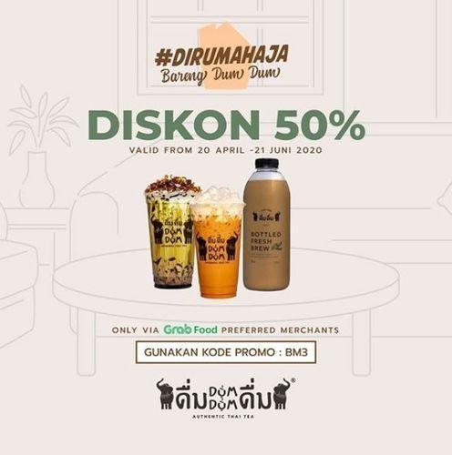 Dum Dum Thai Drinks - Diskon 50% via Grabfood (26330827) di Kota Jakarta Selatan