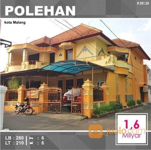 Rumah Murah 2 Lantai Luas 210 Di Kalimosodo Polehan Kota Malang _ 281.20 (26331119) di Kota Malang
