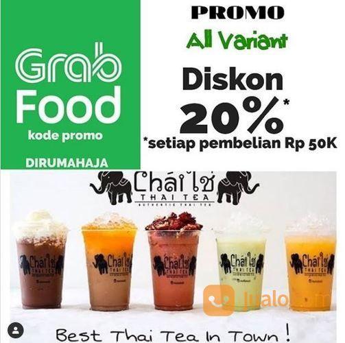 Chai Thai Tea - Promo All Variant Diskon 20% Via Grabfood (26331159) di Kota Semarang