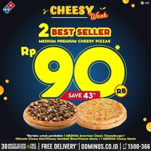Domino's Pizza - Cheesy Week Save 43% (26331723) di Kota Jakarta Selatan