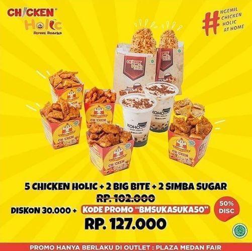 Chicken Holic - Promo Paket Diskon 50% (26331791) di Kota Medan