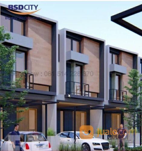 Delatinos Boulevard BSD Rumah 2 Lantai Harga 1 M-An (26332683) di Kota Tangerang Selatan