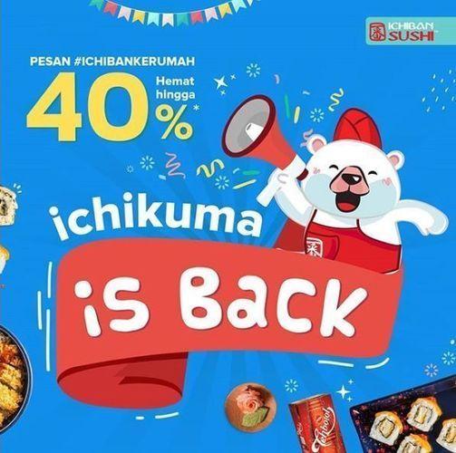 Ichiban Sushi - Promo Diskon 40% (26333759) di Kota Jakarta Selatan