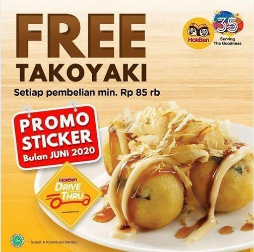 Hokben - Free Takoyaki (26334099) di Kota Jakarta Selatan