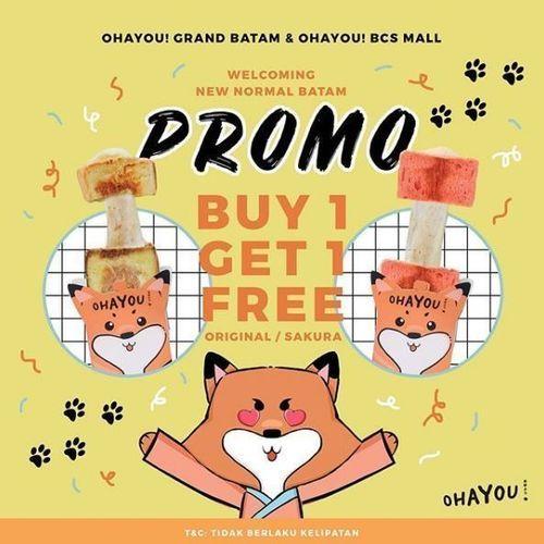 OHAYOU! - Buy 1 Get 1 Free (26334123) di Kota Batam