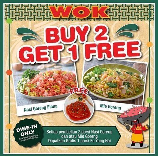 Wok - Buy 2 Get 1 Free (26334139) di Kota Jakarta Selatan