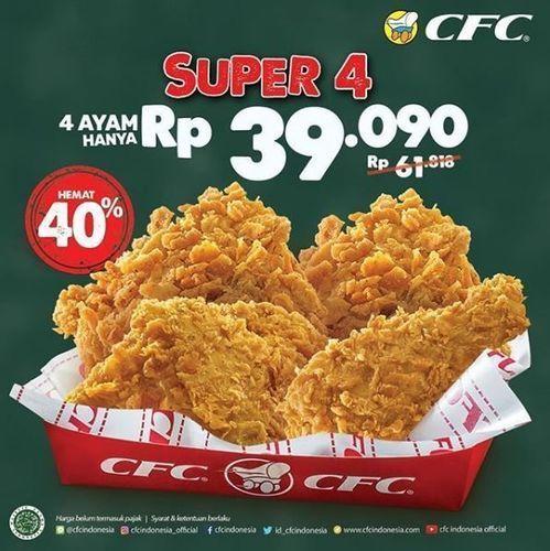 CFC - Paket Super 4 (26334143) di Kota Jakarta Selatan