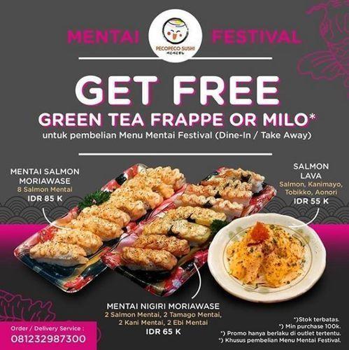 Peco Peco Sushi - Promo Get Free (26334227) di Kota Jakarta Selatan